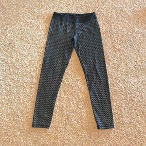 🌸4/$20🌸 SO Chevron Sparkly Yoga Leggings